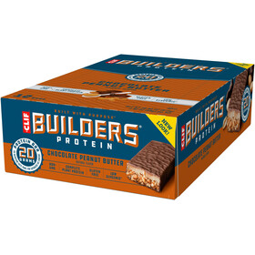 CLIF Bar Builder's Protein Bar Box 12 x 68g, Chocolate Peanut Butter